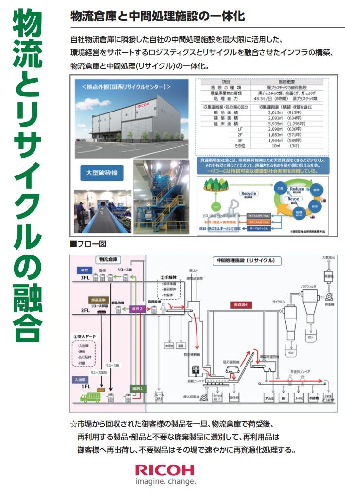 3物流倉庫と中間処理施設の一体化