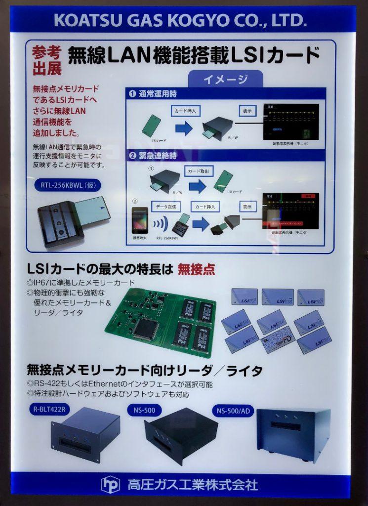 無線LAN機能搭載LSIカード