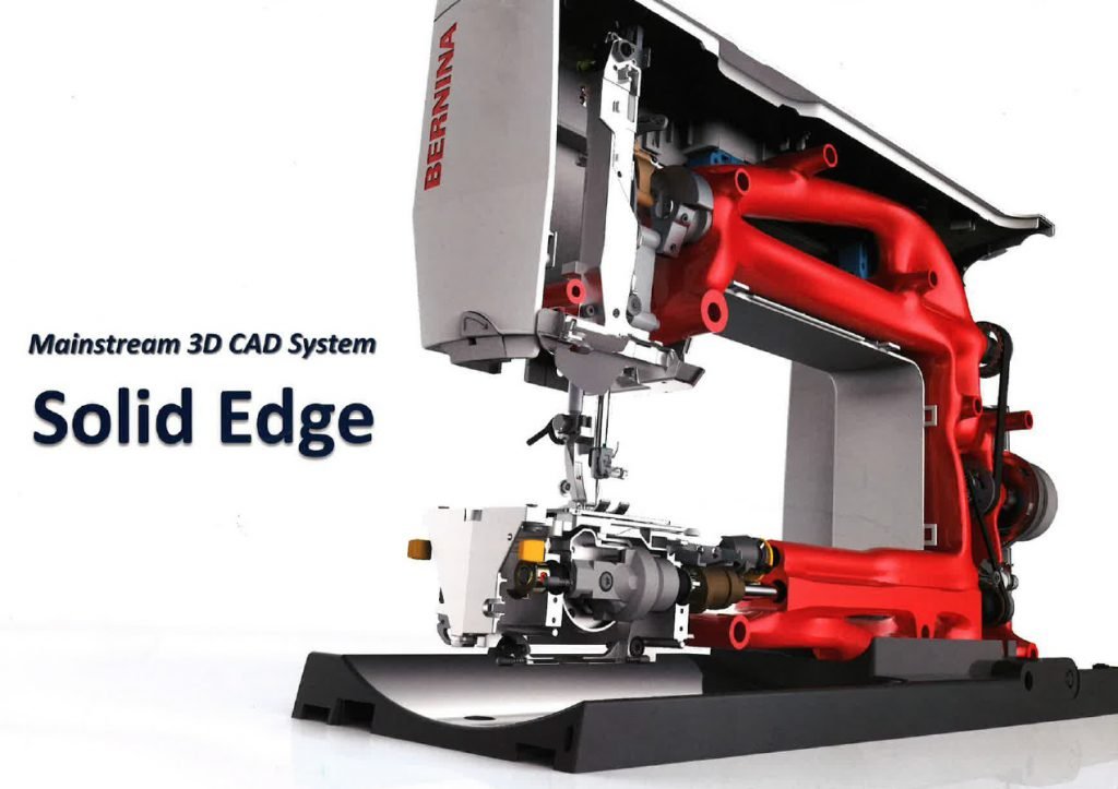Mainstream 3D CAD System 『 Solid Edge 』 設計