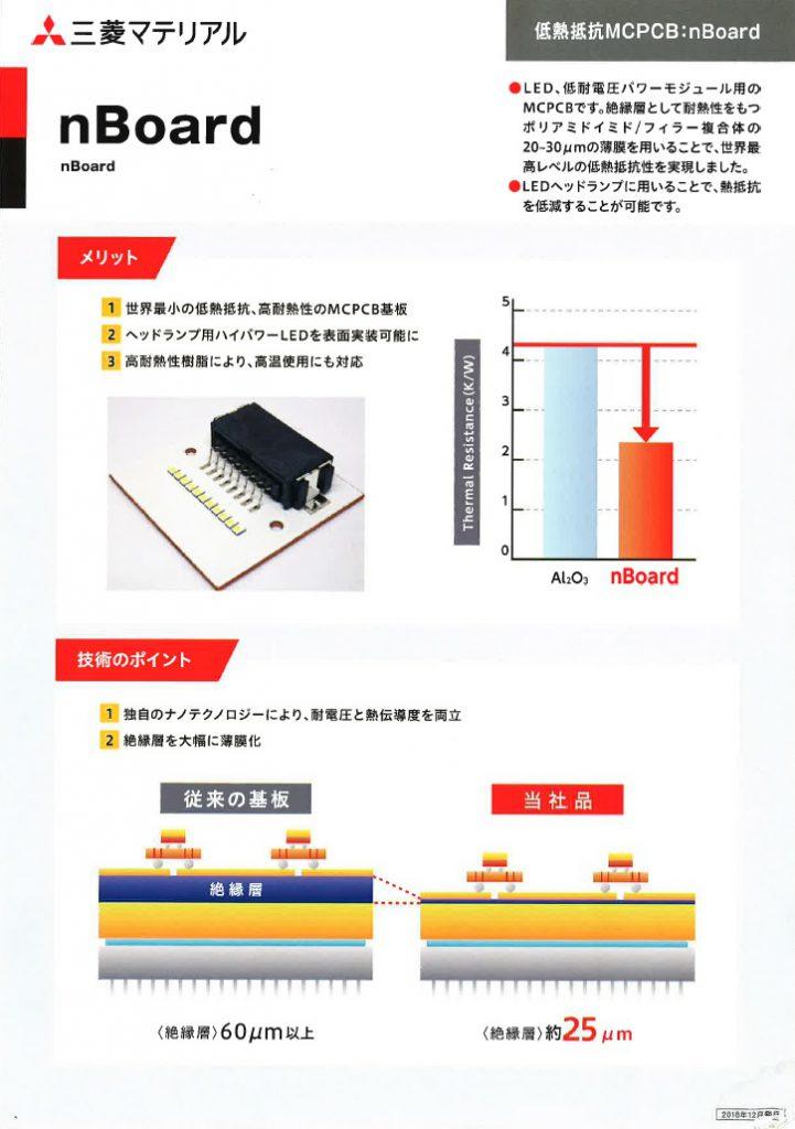 nBoard 低熱抵抗MCPCBーnBoard