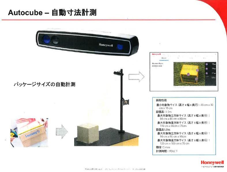 Autocube - 自動寸法計測
